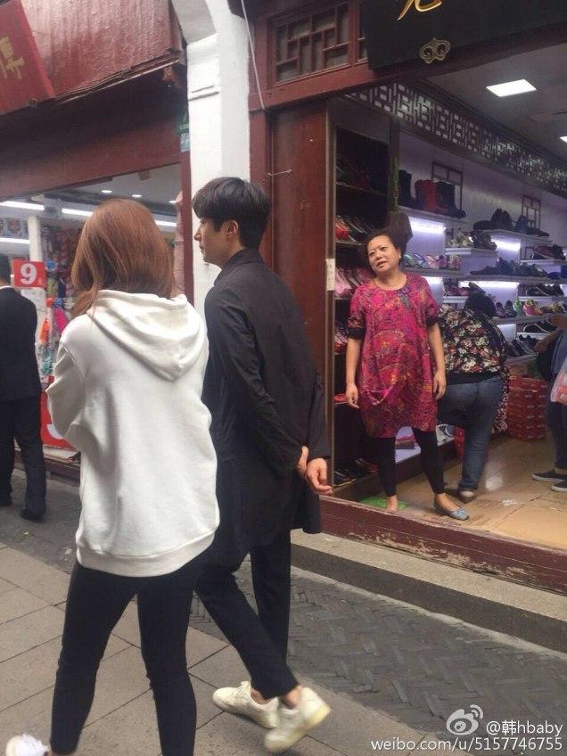 2016 Jung Il woo in Star Shop photos. Dark Gray short overcoat. 14