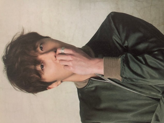 2016 Jung Il woo in his 10th Anniversary Thank You Book. Green Jacket. 7