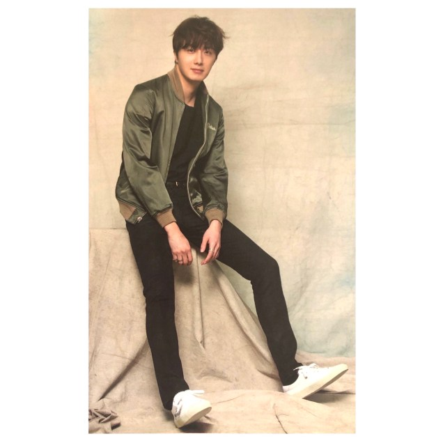 2016 Jung Il woo in his Green Jacket. Inst 4