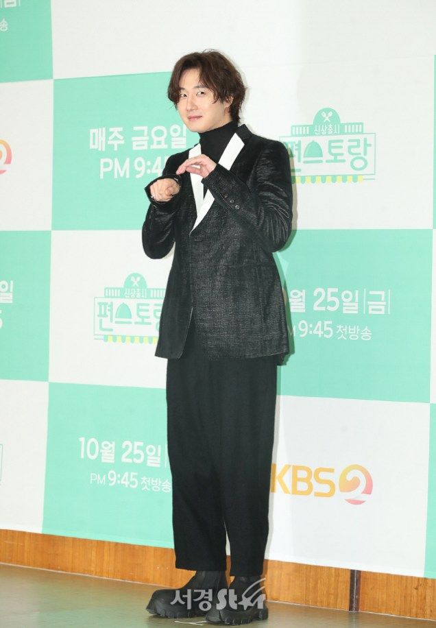 2019 10 25 Jung Il woo at the Press Conference for Convenient Restarurant KBS 19