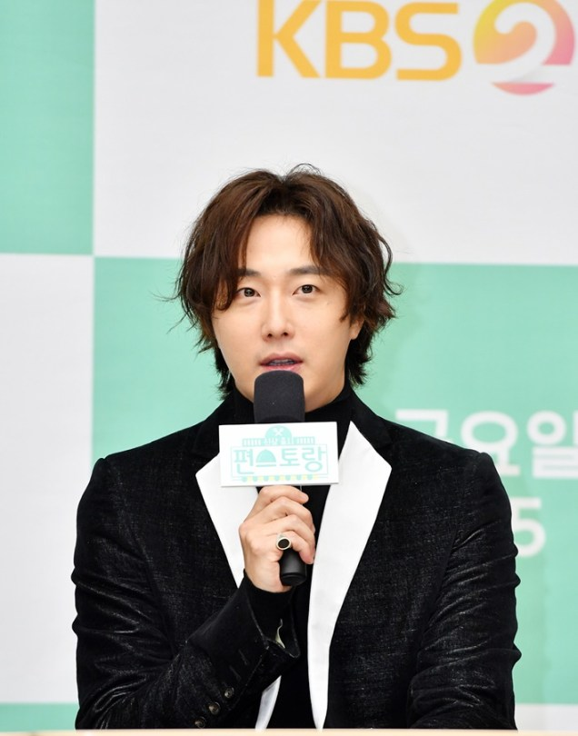 2019 10 25 Jung Il woo at the Press Conference for Convenient Restarurant KBS 3