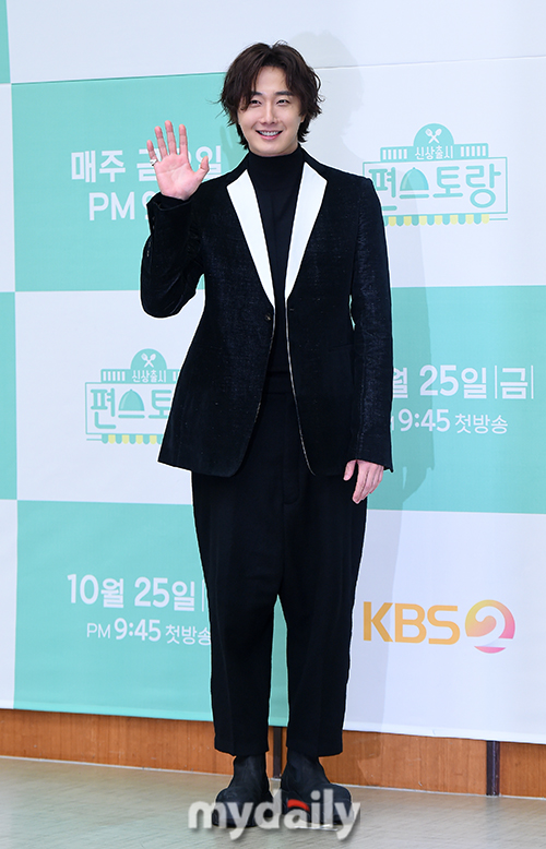 2019 10 25 Jung Il woo at the Press Conference for Convenient Restarurant KBS 5