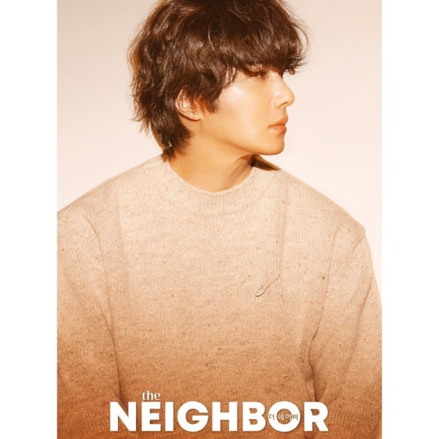 2019 10 Jung Il woo in The Neighbor Magazine. 2