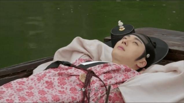 Jung II-woo in The Night Watchman's Journal Ep 5 2