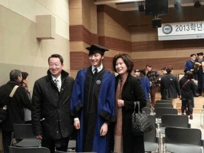 Jung II-woo's Graduation Hanyang University 2014 2 20 39