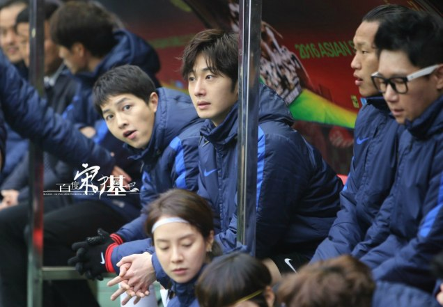 2016 1 10 Jung Il-woo playing soccer in the 2016 Asian Smile Cup. 64