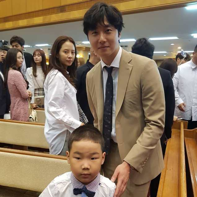 2017 6 11 Jung Il woo attends the wedding of the PD of Running Man. 14