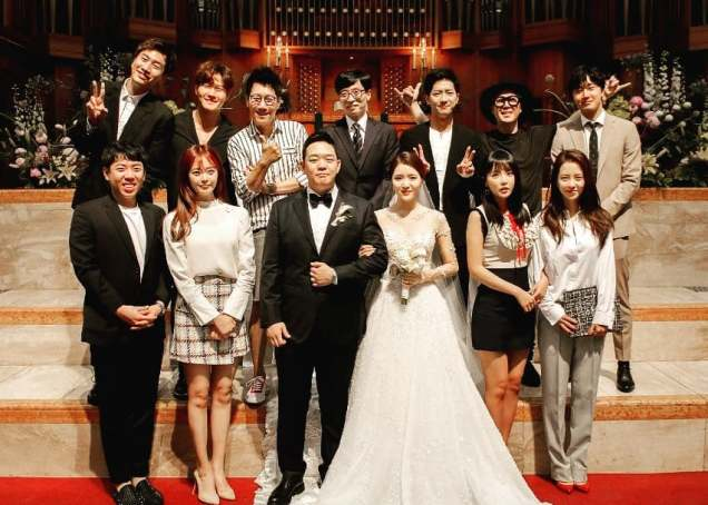 2017 6 11 Jung Il woo attends the wedding of the PD of Running Man. 15