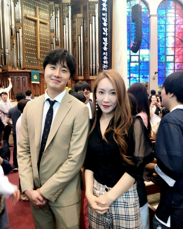 2017 6 11 Jung Il woo attends the wedding of the PD of Running Man. 3