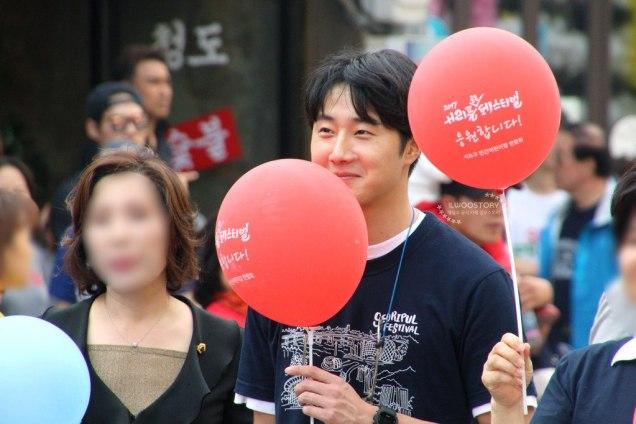 2017 9 16-24 Jung Il woo at the Seoripul Festival in Seocho. 14