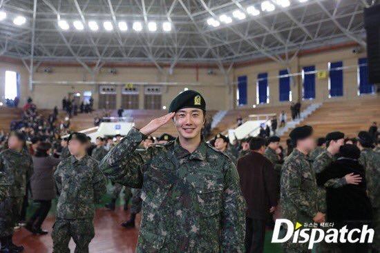 Jung II-woo during Military Basic Training 7