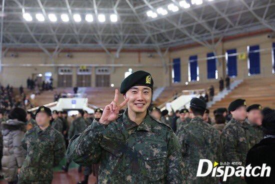 Jung II-woo during Military Basic Training 8