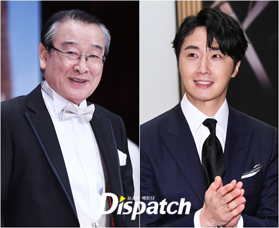 2019 12 7 Jung Il woo at KBS for filming of Happy Together 4 with Lee Soon-jae. 4