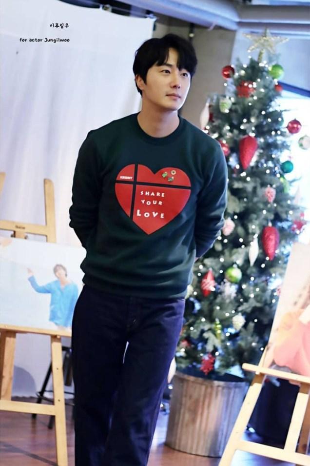 2019 Jung Il woo Share Your Love Bazaar. Cr. IG ililw1987_. 2