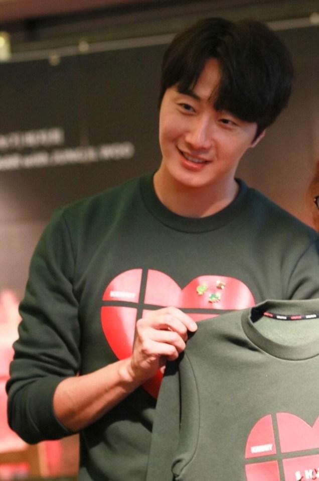 2019 Jung Il woo Share Your Love Bazaar. Cr. IG ou_seoumojeiuy. 2