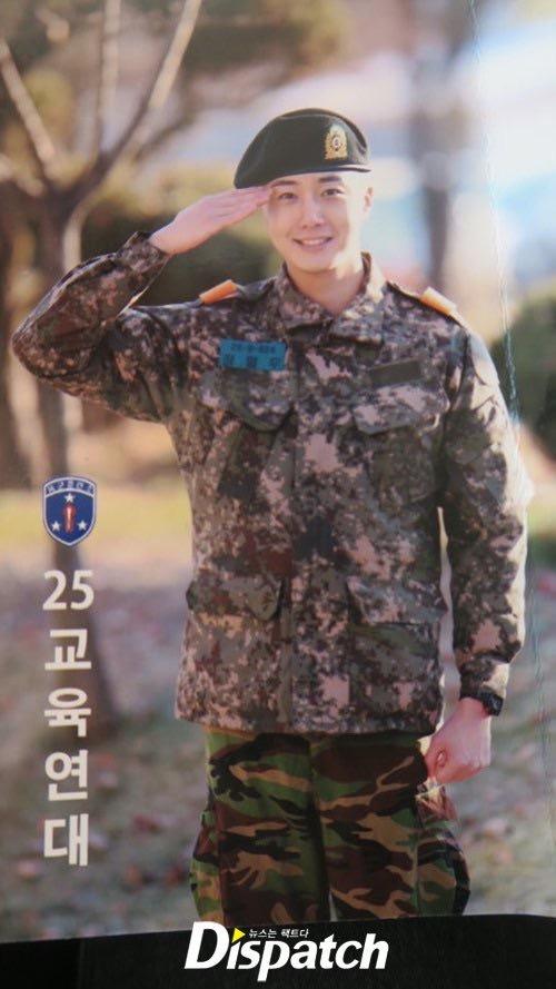 Jung II-woo during Military Basic Training 3