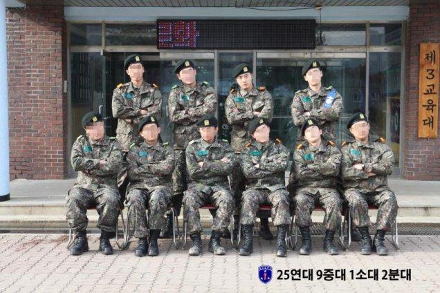 Jung II-woo during Military Basic Training.jpg