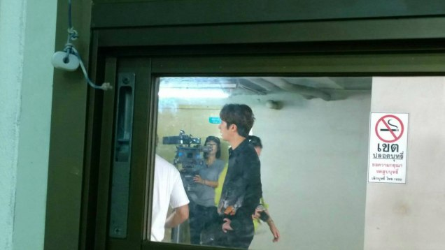 Jung Il woo in Behind the Scenes of Love and Lies. Filming Moments. 4