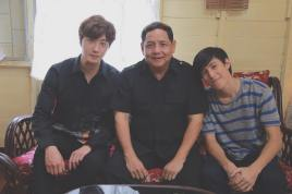 Jung Il woo in Behind the Scenes of Love and Lies. With Family. 2