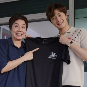 Jung Il woo in Behind the Scenes of Love and Lies. With Family. 4