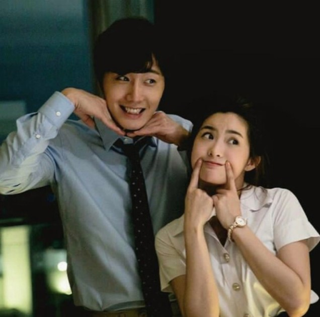 Jung Il woo in Behind the Scenes of Love and Lies. With Mild. 1