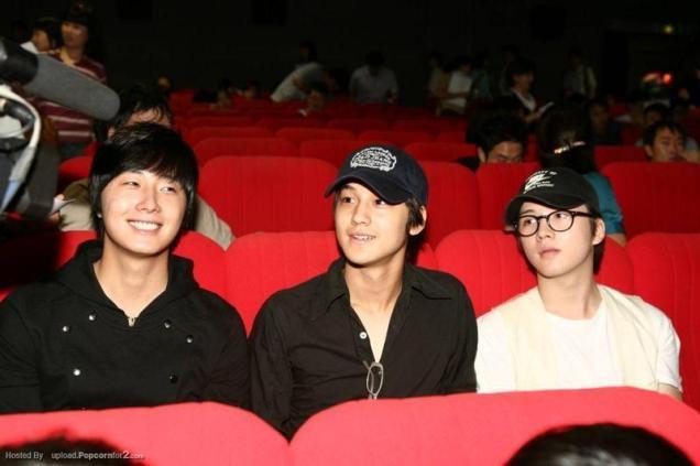 2007 Kim Bum and Jung II-woo.jpg