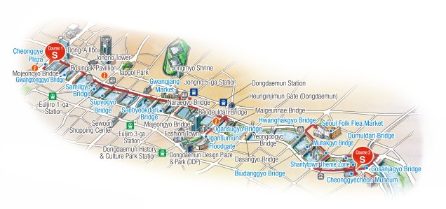 2019 Map of Cheonggyecheon Stream Cr. Visit Seoul.net .jpg