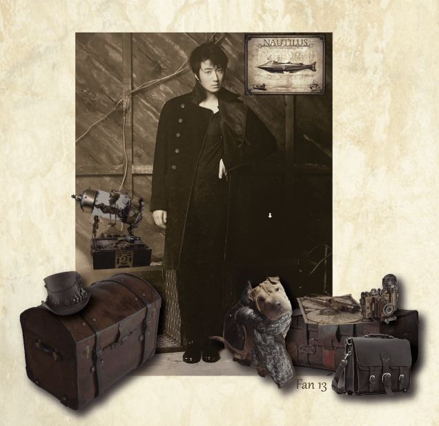 Captain Ilwoo and Awoo ready for the trip. By Fan 13 from www.jungilwoodelights.com
