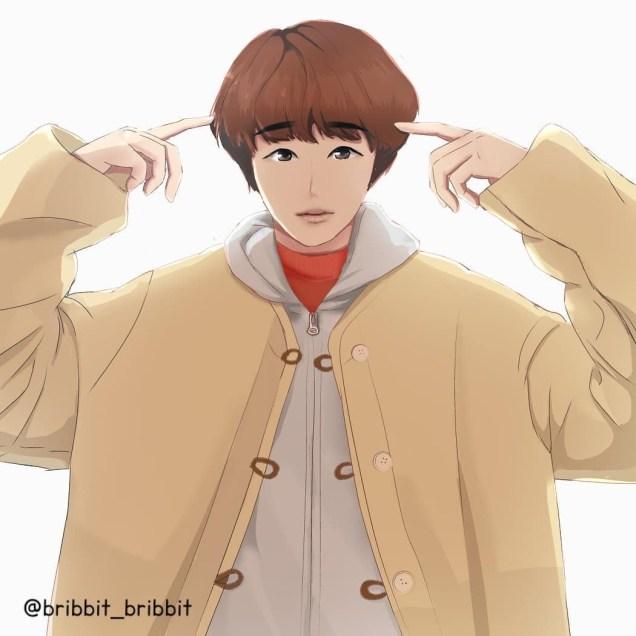 Jung Il woo Art by IG bribbit_bribbit 2