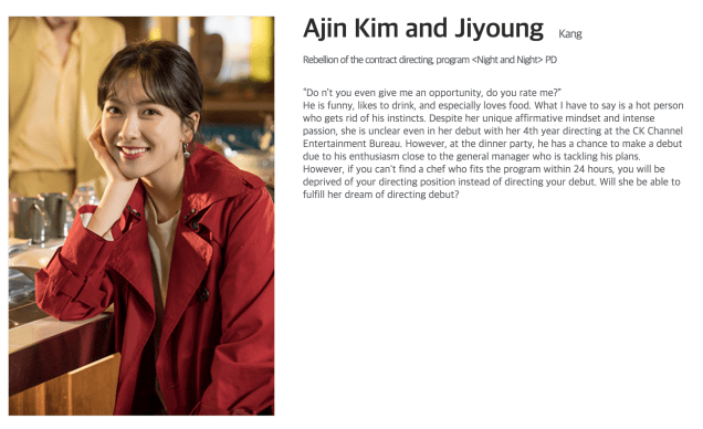 Character Kim A Jin from JTBC Website