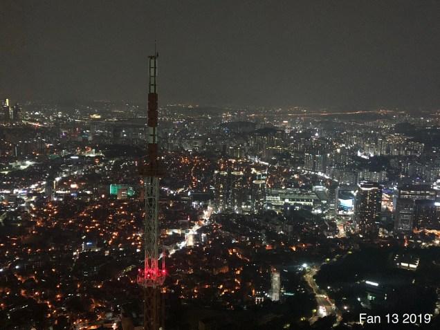 2019 Trip to Namsan Tower, Seoul. By Fan 13. 20