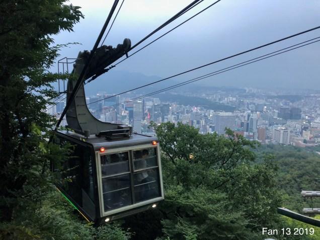 2019 Trip to Namsan Tower, Seoul. By Fan 13. 5