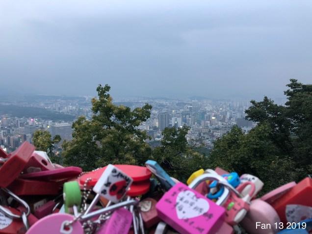 2019 Trip to Namsan Tower, Seoul. By Fan 13. 7