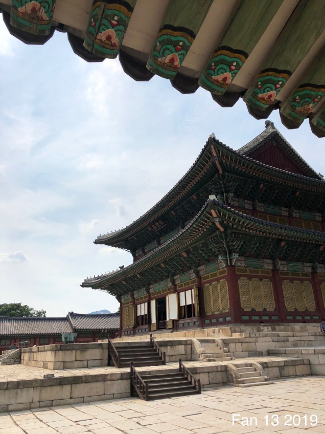 Changdeokgung Palace. Photos by Fan 13, www.jungilwoodelights.com. 2019 11