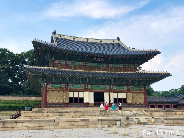 Changdeokgung Palace. Photos by Fan 13, www.jungilwoodelights.com. 2019 49