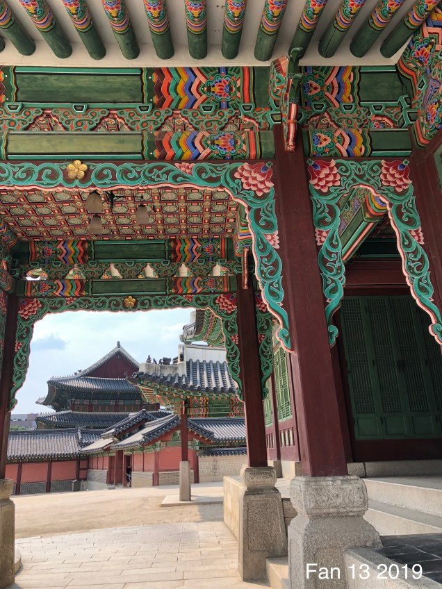 Changdeokgung Palace. Photos by Fan 13, www.jungilwoodelights.com. 2019 6