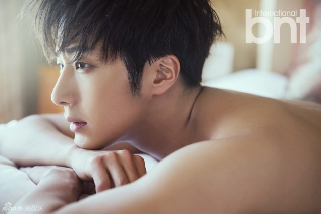2014 19 Jung Il woo in the BNT International Photo Shoot in Bali Indonesia. 2