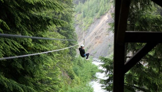 2011 7 OMT Day 3 Whistler Ziptrek Eco Tour 2