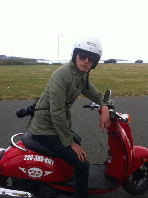 2011 7 OMT Day 6 Victoria Scooter Drive 1