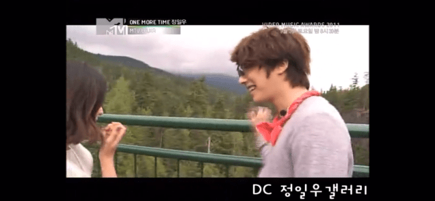 2011 Jung Il woo in One More Time. Episode 3. Screen Capture by Fan 13. 2