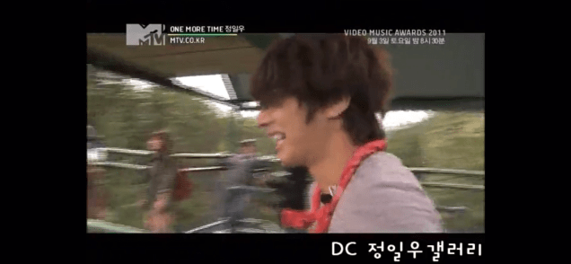 2011 Jung Il woo in One More Time. Episode 3. Screen Capture by Fan 13. 5