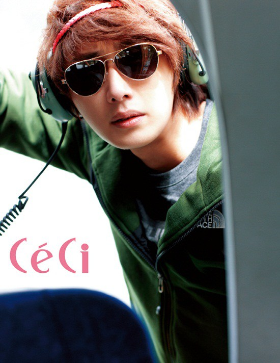 2011 Jung Il woo in Ceci Magazine. 14