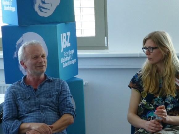 Workshop mit Hans Peter Graß und Desiree Summerer, Friedensbüro Salzburg