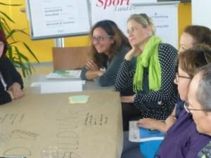 Worldcafe beim Salzburger Landessporttag 2014, moderiert von der JBZ.