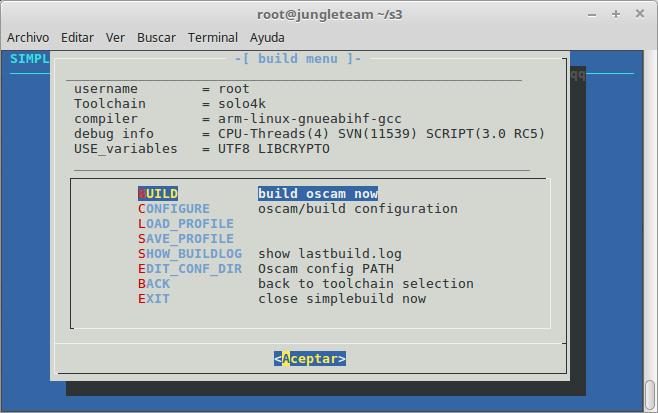 Crosscompilar Oscam enigma2 – Jungle-Team com