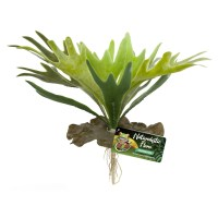 Artificial Plastic Fake Fern Plant for a Terrarium or Vivarium