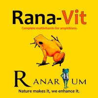 Ranarium Rana-vit Reptile and Amphibian multi vitamins