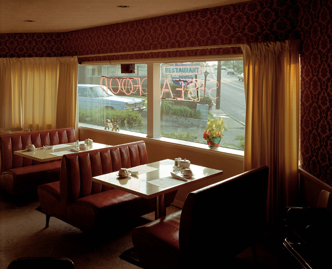 Stephen Shore, Sugar Bowl Restaurant (7 July, 1973), Gaylord, Michigan, USA