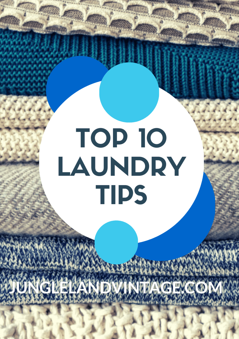 10 Laundry Tips and Tricks