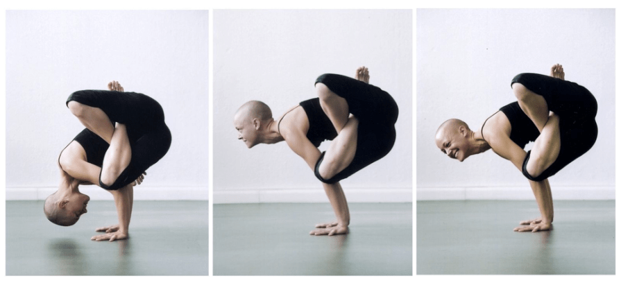Punga kukkutasana series, Munich 2007. Photo by Manu Theobald